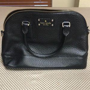 Black Kate Spade Hand Bag